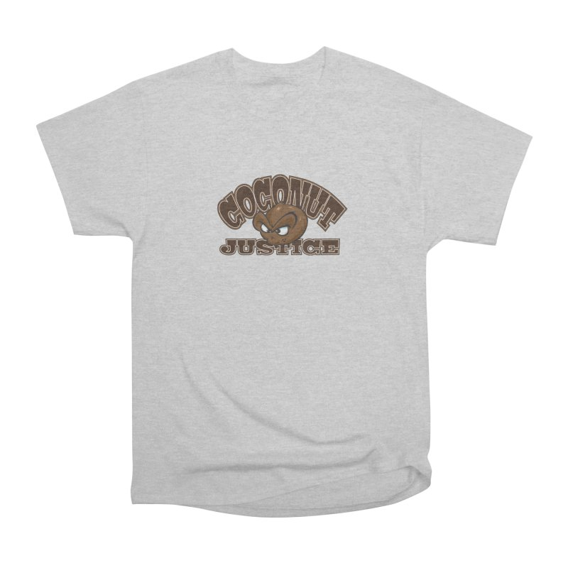 Coconut Justice Logo Men's Heavyweight T-Shirt by Coconut Justice's Artist Shop