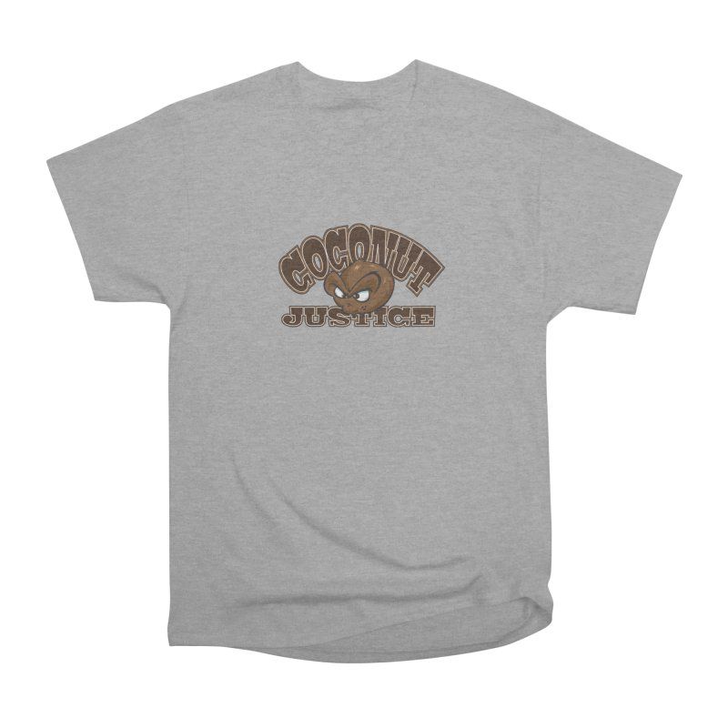 Coconut Justice Logo Women's Heavyweight Unisex T-Shirt by Coconut Justice's Artist Shop
