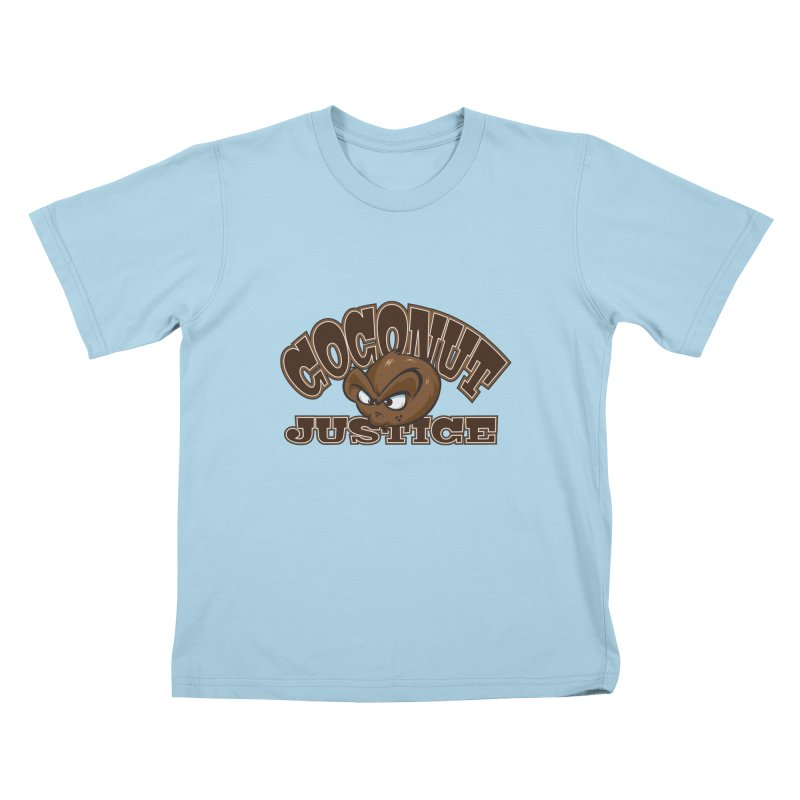 Coconut Justice Logo Kids T-Shirt by Coconut Justice's Artist Shop