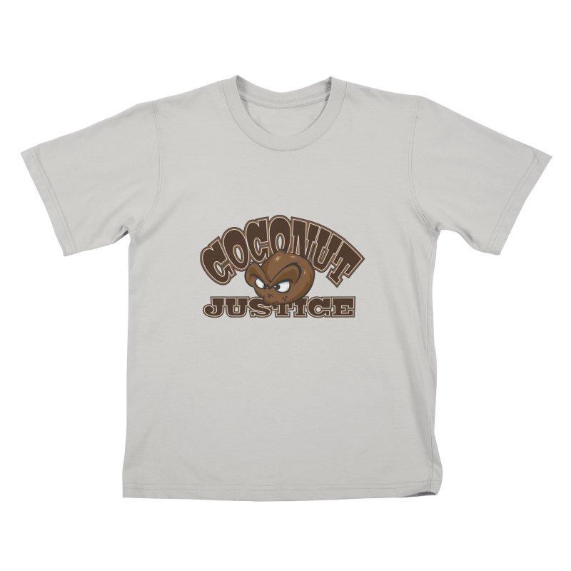 Coconut Justice Logo Kids T-Shirt by Coconut Justice's Artist Shop