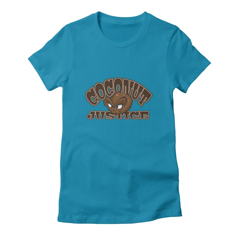 Coconut Justice Logo Women's  by Coconut Justice's Artist Shop