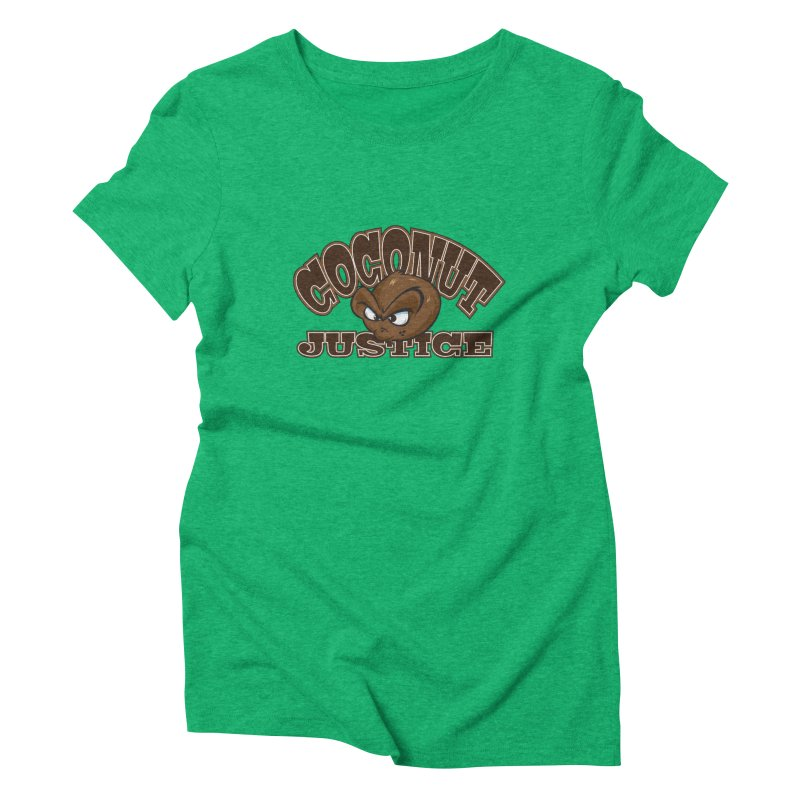Coconut Justice Logo Women's Triblend T-Shirt by Coconut Justice's Artist Shop