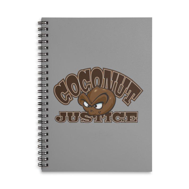 Coconut Justice Logo Accessories Notebook by Coconut Justice's Artist Shop