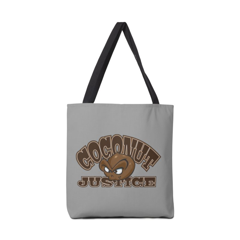Coconut Justice Logo Accessories Tote Bag Bag by Coconut Justice's Artist Shop
