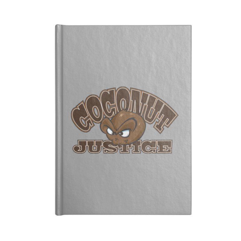 Coconut Justice Logo Accessories Lined Journal Notebook by Coconut Justice's Artist Shop