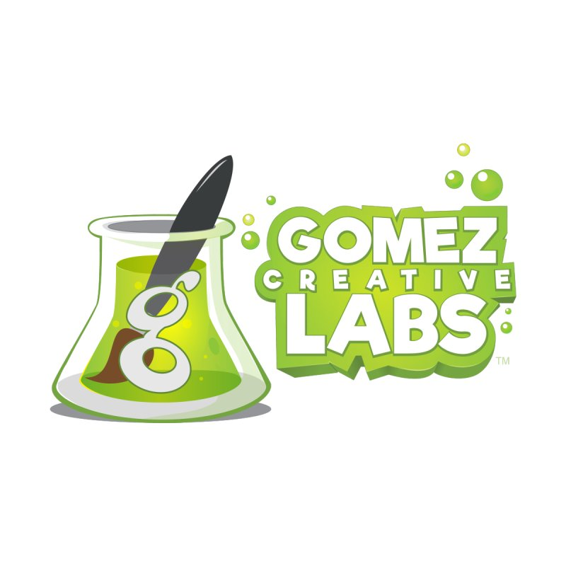 Gomez Creative Labs Logo Accessories Beach Towel by Coconut Justice's Artist Shop