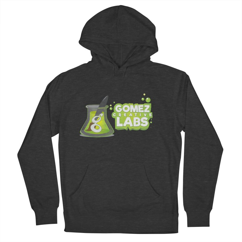 Gomez Creative Labs Logo Women's French Terry Pullover Hoody by Coconut Justice's Artist Shop