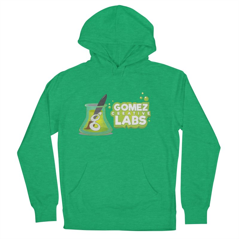 Gomez Creative Labs Logo Men's French Terry Pullover Hoody by Coconut Justice's Artist Shop