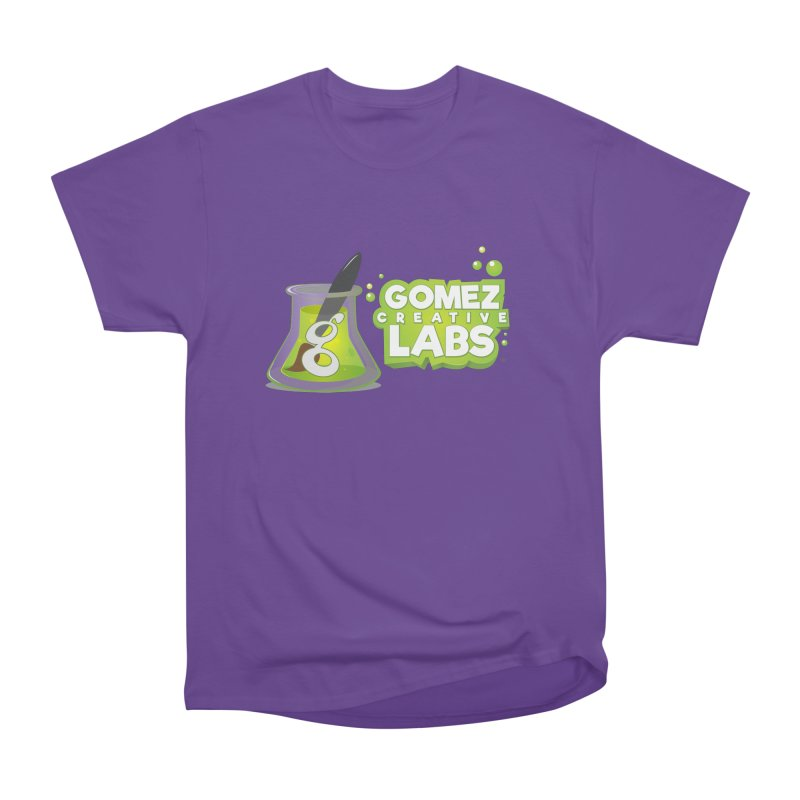 Gomez Creative Labs Logo Men's Heavyweight T-Shirt by Coconut Justice's Artist Shop