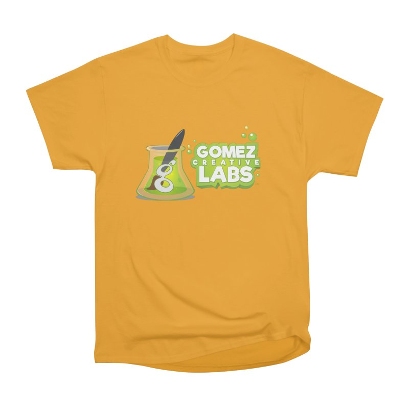 Gomez Creative Labs Logo Women's Heavyweight Unisex T-Shirt by Coconut Justice's Artist Shop