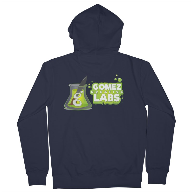 Gomez Creative Labs Logo Women's French Terry Zip-Up Hoody by Coconut Justice's Artist Shop
