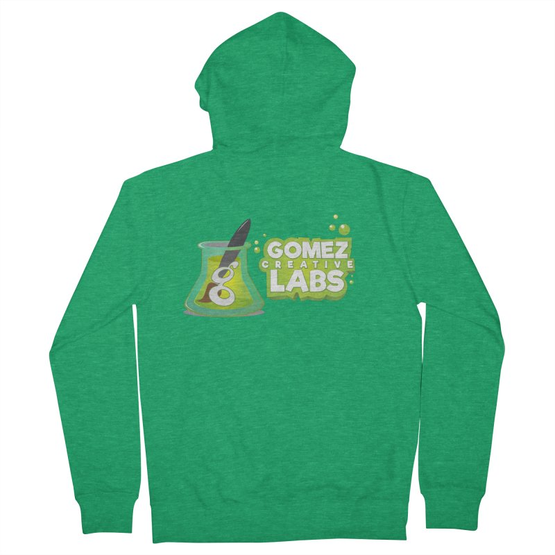 Gomez Creative Labs Logo Men's Zip-Up Hoody by Coconut Justice's Artist Shop