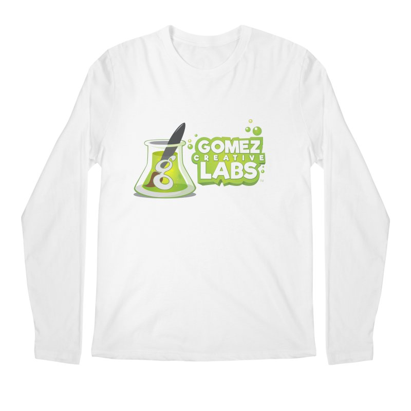 Gomez Creative Labs Logo Men's Regular Longsleeve T-Shirt by Coconut Justice's Artist Shop