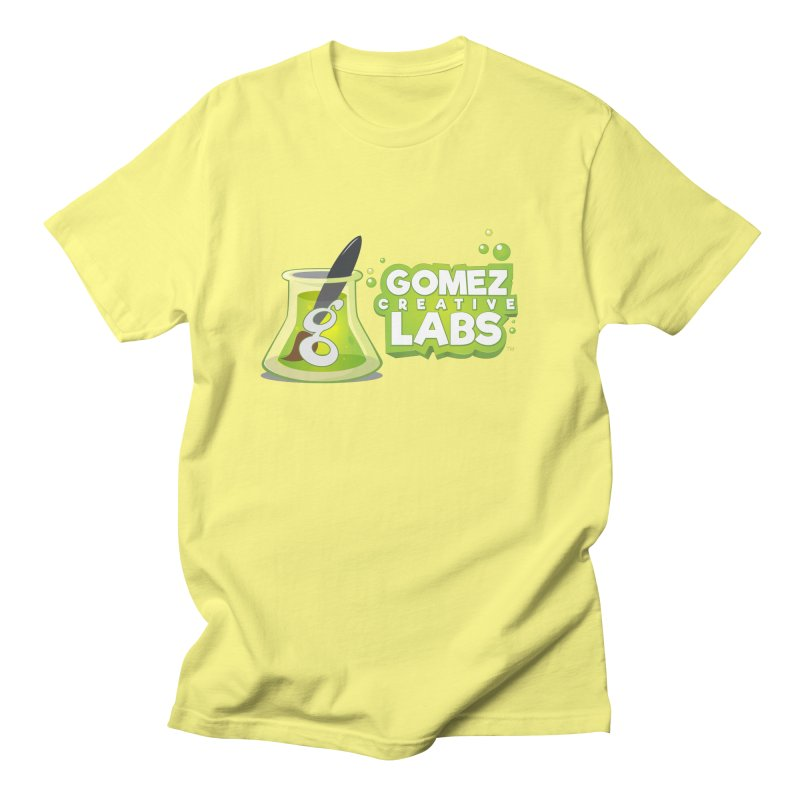 Gomez Creative Labs Logo Men's  by Coconut Justice's Artist Shop