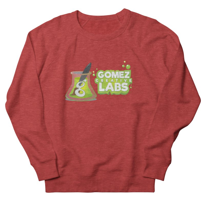 Gomez Creative Labs Logo Men's French Terry Sweatshirt by Coconut Justice's Artist Shop