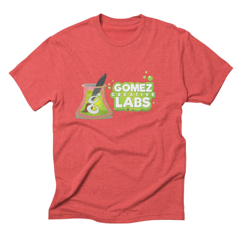 Gomez Creative Labs Logo Men's Triblend T-Shirt by Coconut Justice's Artist Shop