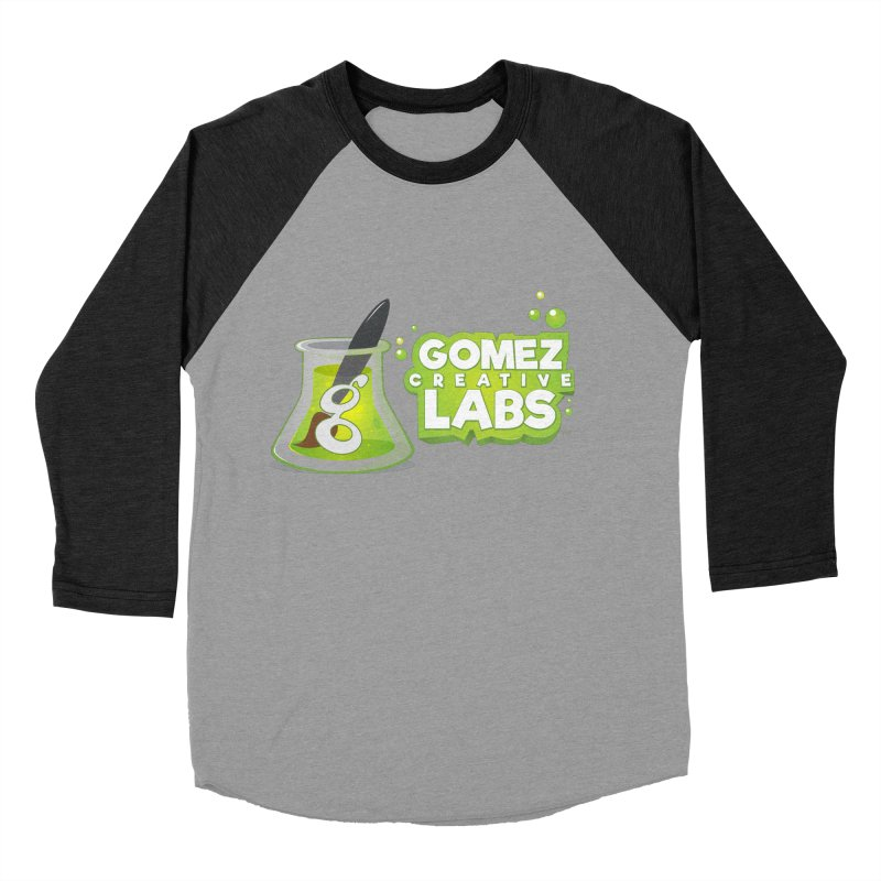 Gomez Creative Labs Logo Women's Baseball Triblend Longsleeve T-Shirt by Coconut Justice's Artist Shop