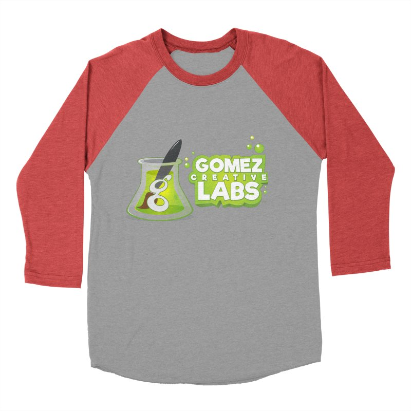 Gomez Creative Labs Logo Men's Baseball Triblend T-Shirt by Coconut Justice's Artist Shop