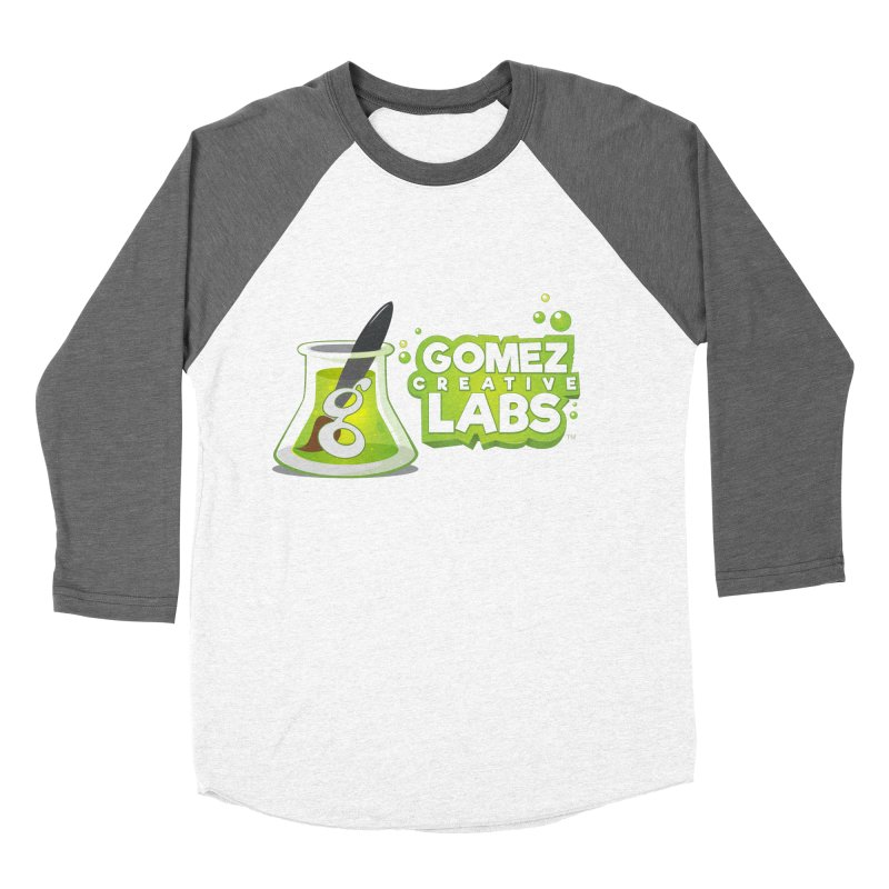 Gomez Creative Labs Logo Men's Baseball Triblend Longsleeve T-Shirt by Coconut Justice's Artist Shop