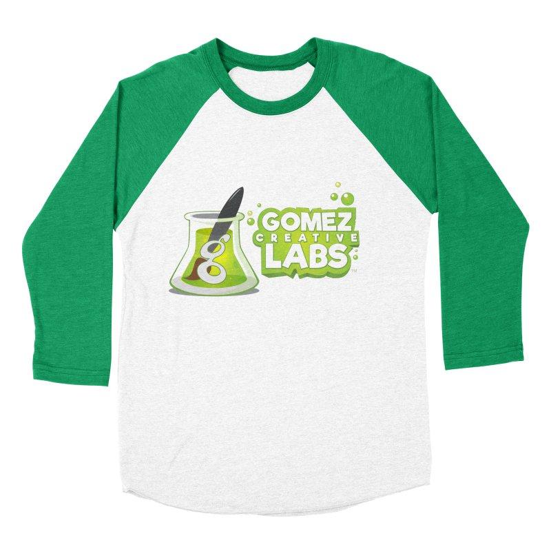 Gomez Creative Labs Logo Men's Baseball Triblend Longsleeve T-Shirt by Coconut Justice's Artist Shop