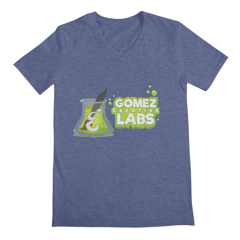 Gomez Creative Labs Logo Men's Regular V-Neck by Coconut Justice's Artist Shop