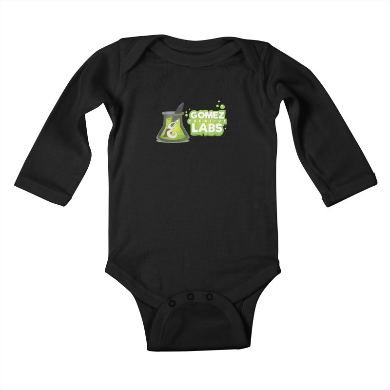 Gomez Creative Labs Logo Kids Baby Longsleeve Bodysuit by Coconut Justice's Artist Shop