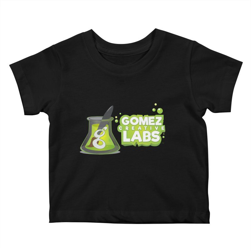 Gomez Creative Labs Logo Kids Baby T-Shirt by Coconut Justice's Artist Shop