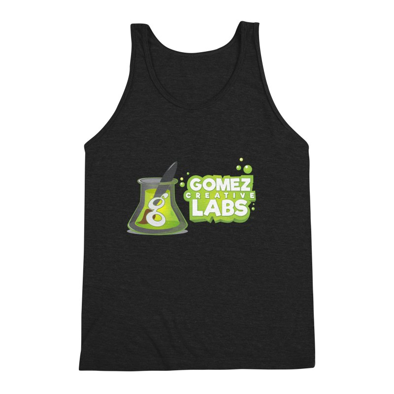Gomez Creative Labs Logo Men's Triblend Tank by Coconut Justice's Artist Shop
