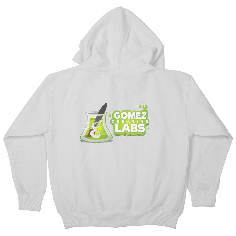 Gomez Creative Labs Logo Kids Zip-Up Hoody by Coconut Justice's Artist Shop