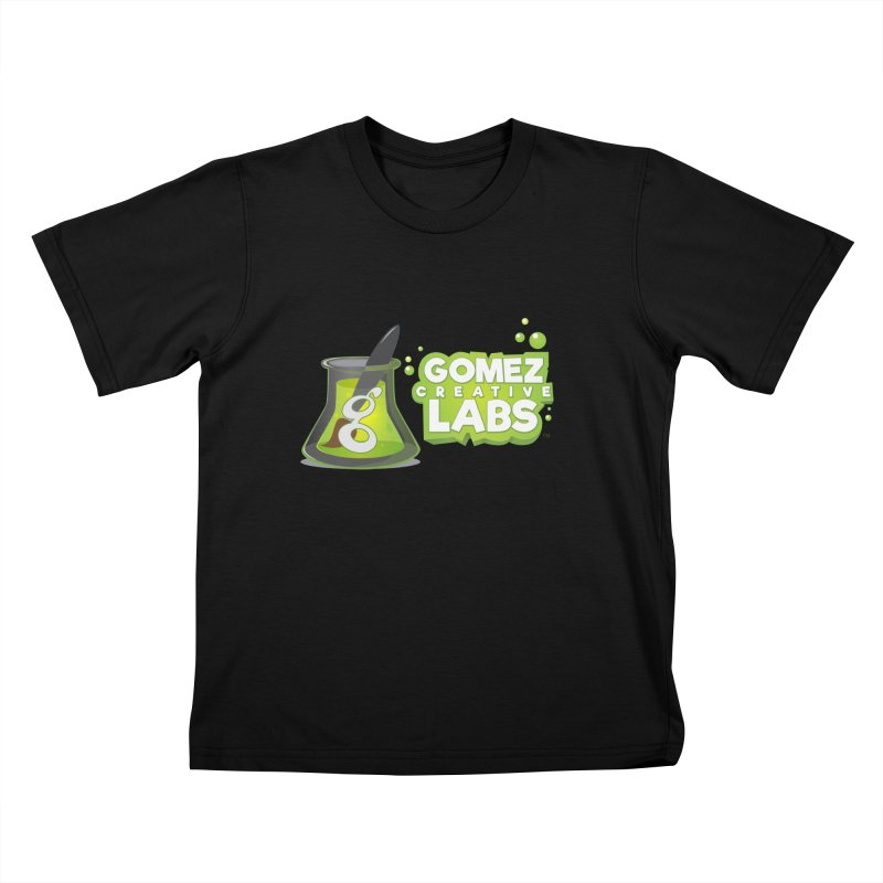 Gomez Creative Labs Logo Kids T-Shirt by Coconut Justice's Artist Shop