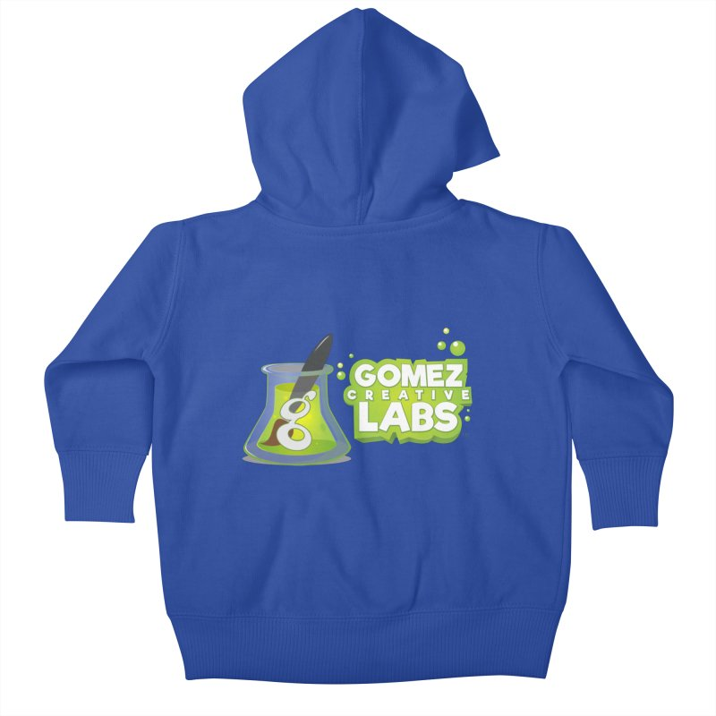 Gomez Creative Labs Logo Kids Baby Zip-Up Hoody by Coconut Justice's Artist Shop