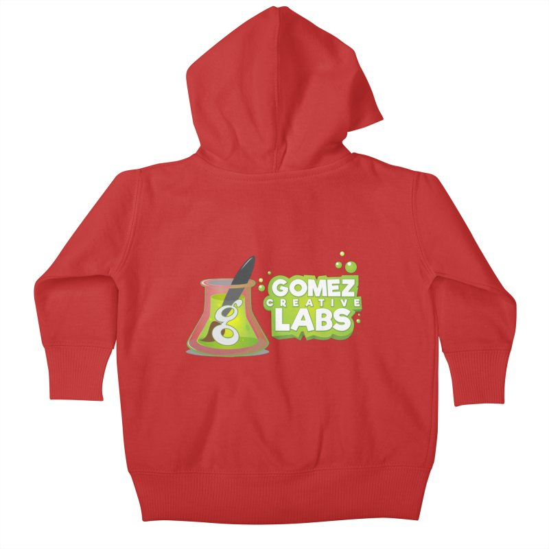 Gomez Creative Labs Logo Kids Baby Zip-Up Hoody by Coconut Justice's Artist Shop