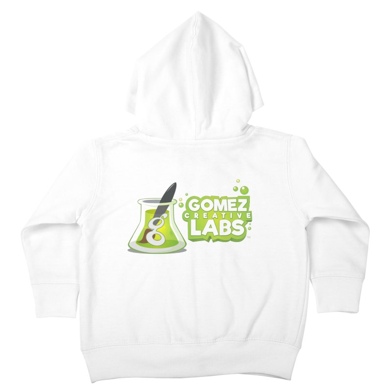 Gomez Creative Labs Logo Kids Toddler Zip-Up Hoody by Coconut Justice's Artist Shop