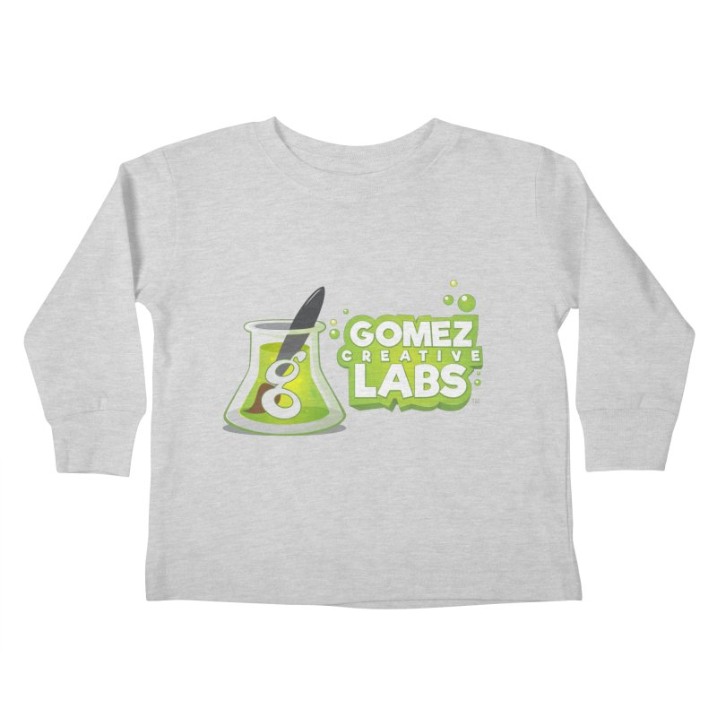 Gomez Creative Labs Logo Kids Toddler Longsleeve T-Shirt by Coconut Justice's Artist Shop