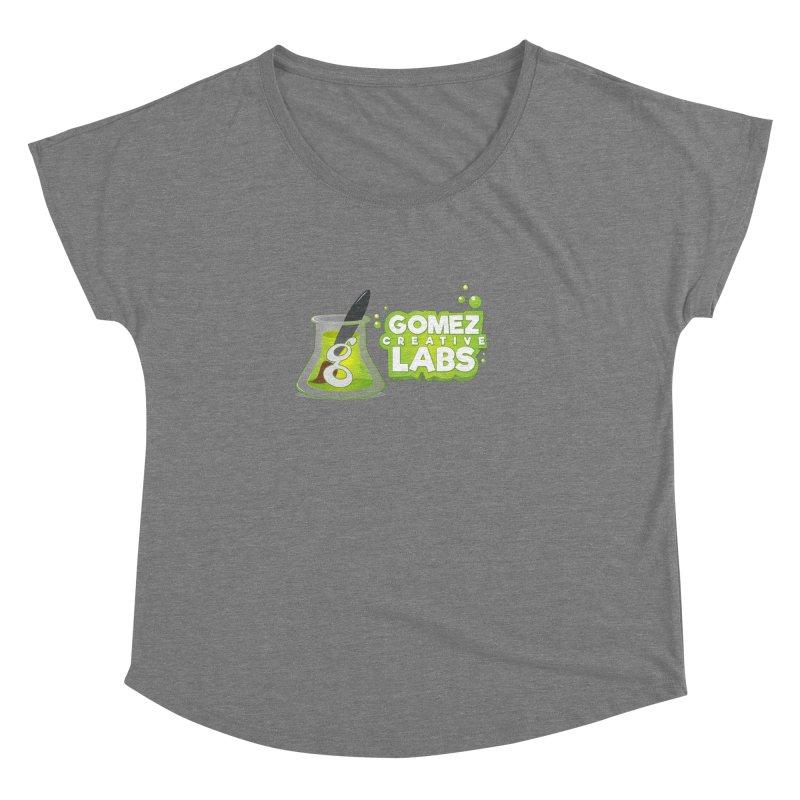 Gomez Creative Labs Logo Women's Dolman Scoop Neck by Coconut Justice's Artist Shop
