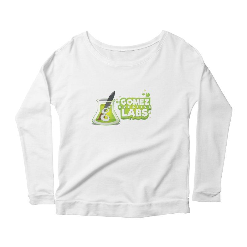 Gomez Creative Labs Logo Women's Scoop Neck Longsleeve T-Shirt by Coconut Justice's Artist Shop