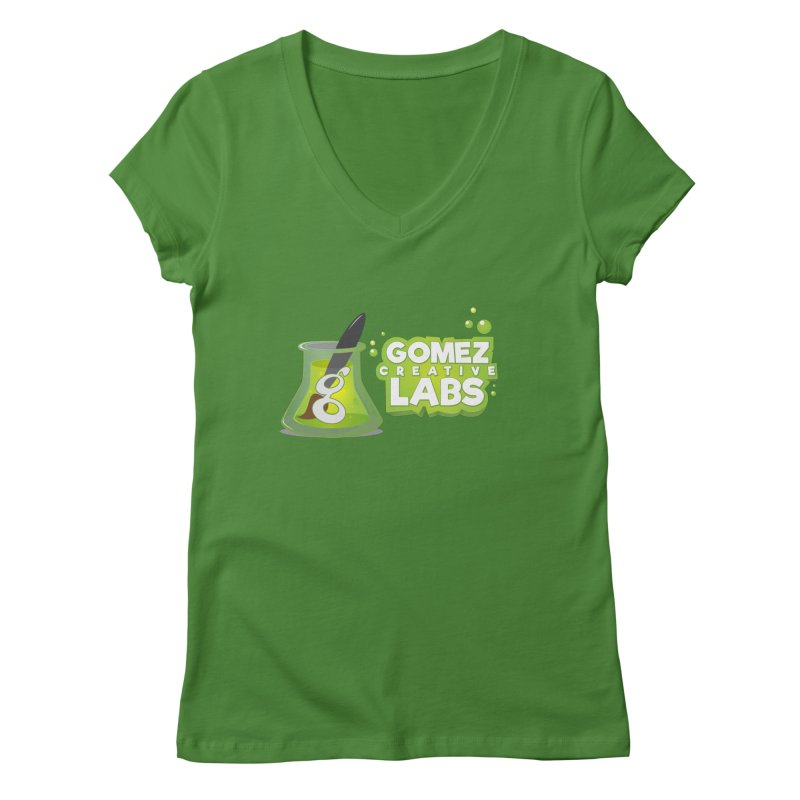 Gomez Creative Labs Logo Women's Regular V-Neck by Coconut Justice's Artist Shop