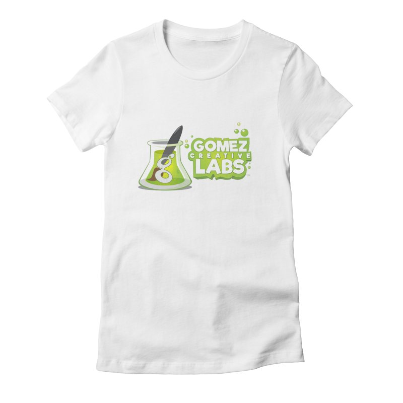 Gomez Creative Labs Logo Women's Fitted T-Shirt by Coconut Justice's Artist Shop
