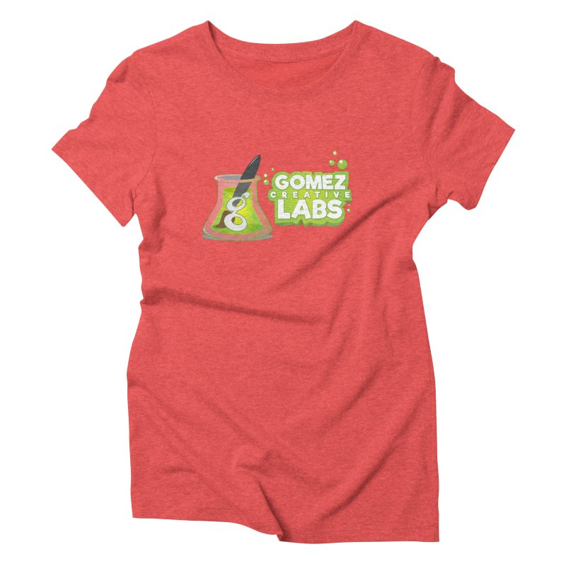 Gomez Creative Labs Logo Women's Triblend T-Shirt by Coconut Justice's Artist Shop