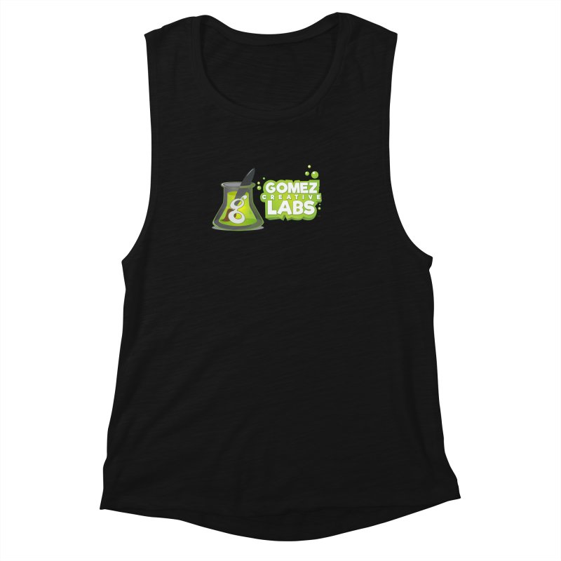 Gomez Creative Labs Logo Women's Muscle Tank by Coconut Justice's Artist Shop