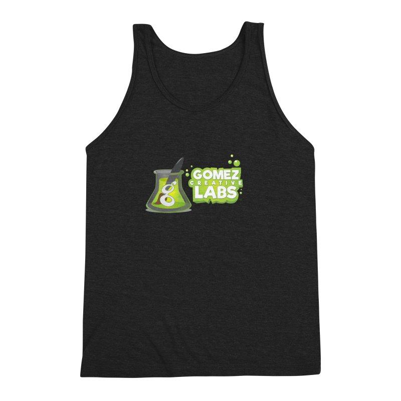 Gomez Creative Labs Logo Men's Triblend Tank by Coconut Justice's Artist Shop