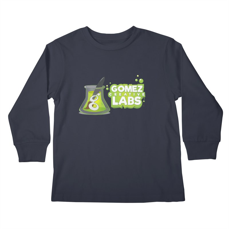 Gomez Creative Labs Logo Kids Longsleeve T-Shirt by Coconut Justice's Artist Shop