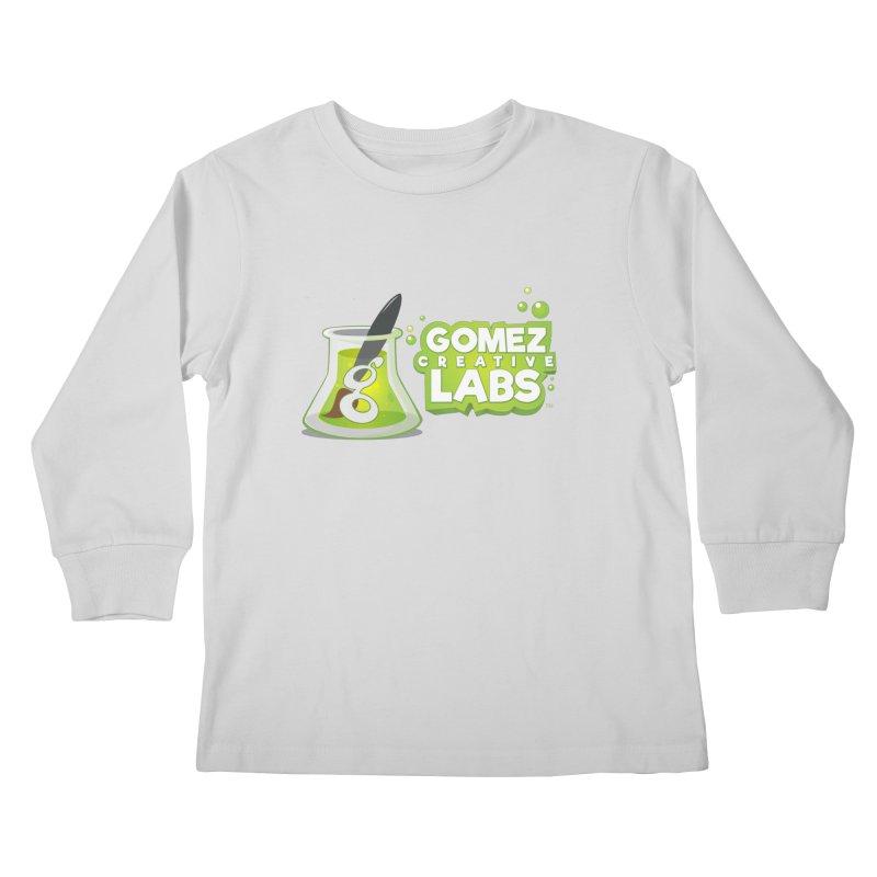 Gomez Creative Labs Logo Kids Longsleeve T-Shirt by Coconut Justice's Artist Shop