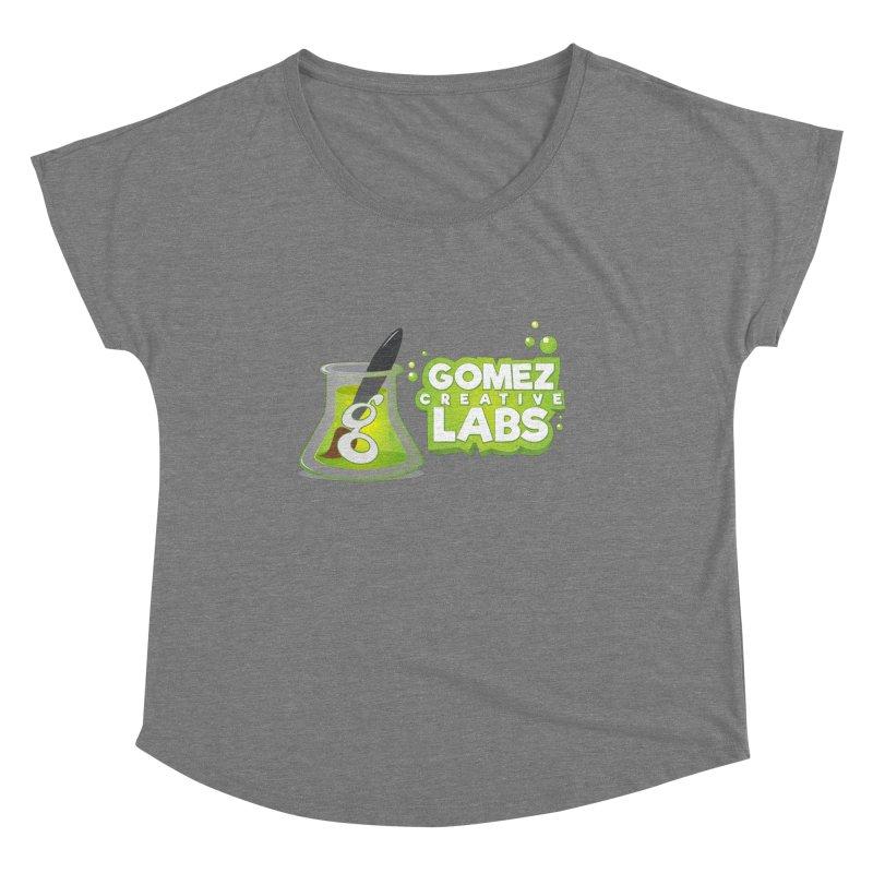 Gomez Creative Labs Logo Women's Scoop Neck by Coconut Justice's Artist Shop