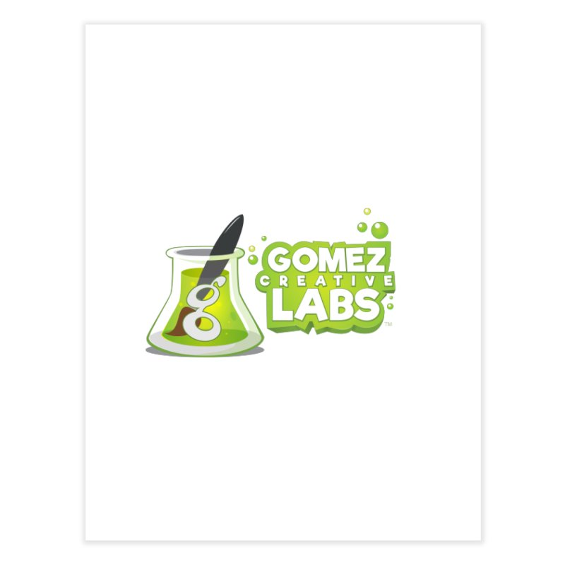 Gomez Creative Labs Logo Home Fine Art Print by Coconut Justice's Artist Shop