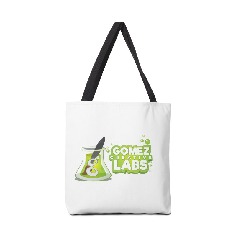 Gomez Creative Labs Logo Accessories Tote Bag Bag by Coconut Justice's Artist Shop