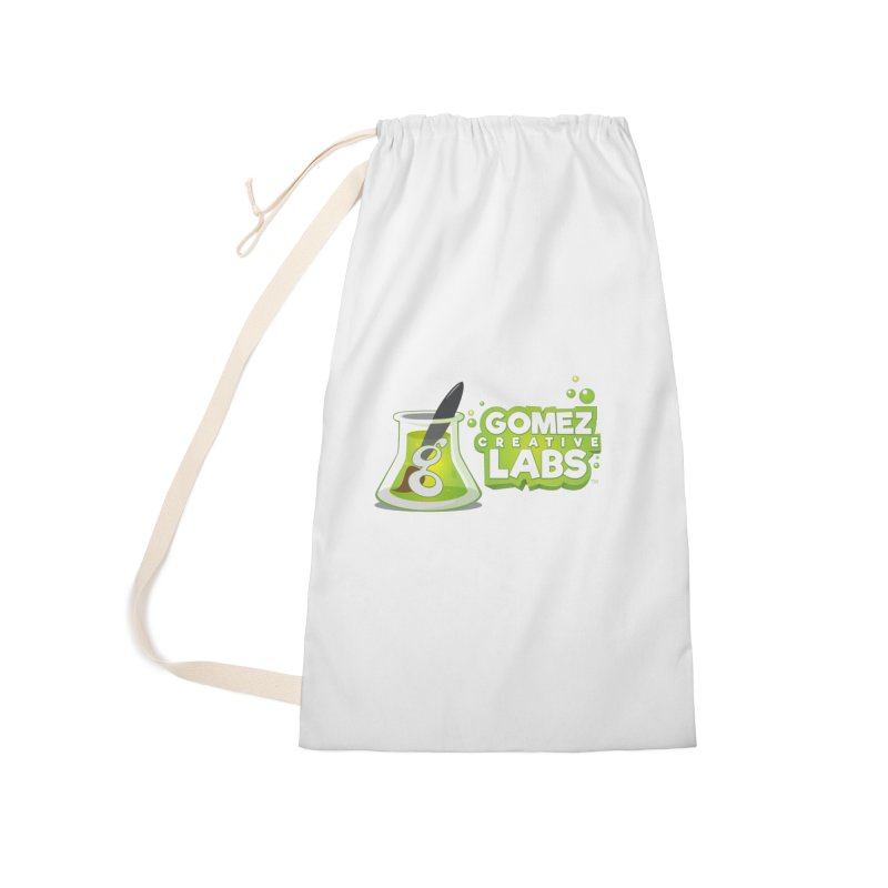 Gomez Creative Labs Logo Accessories Laundry Bag Bag by Coconut Justice's Artist Shop