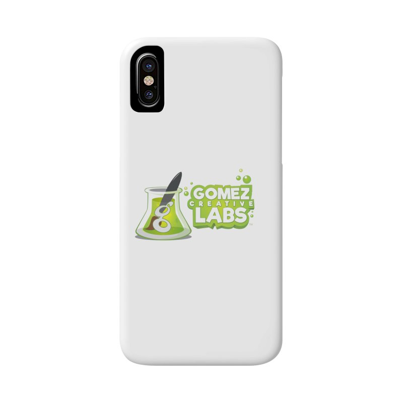 Gomez Creative Labs Logo Accessories Phone Case by Coconut Justice's Artist Shop