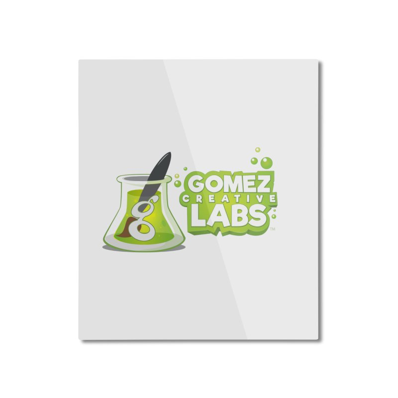 Gomez Creative Labs Logo Home Mounted Aluminum Print by Coconut Justice's Artist Shop