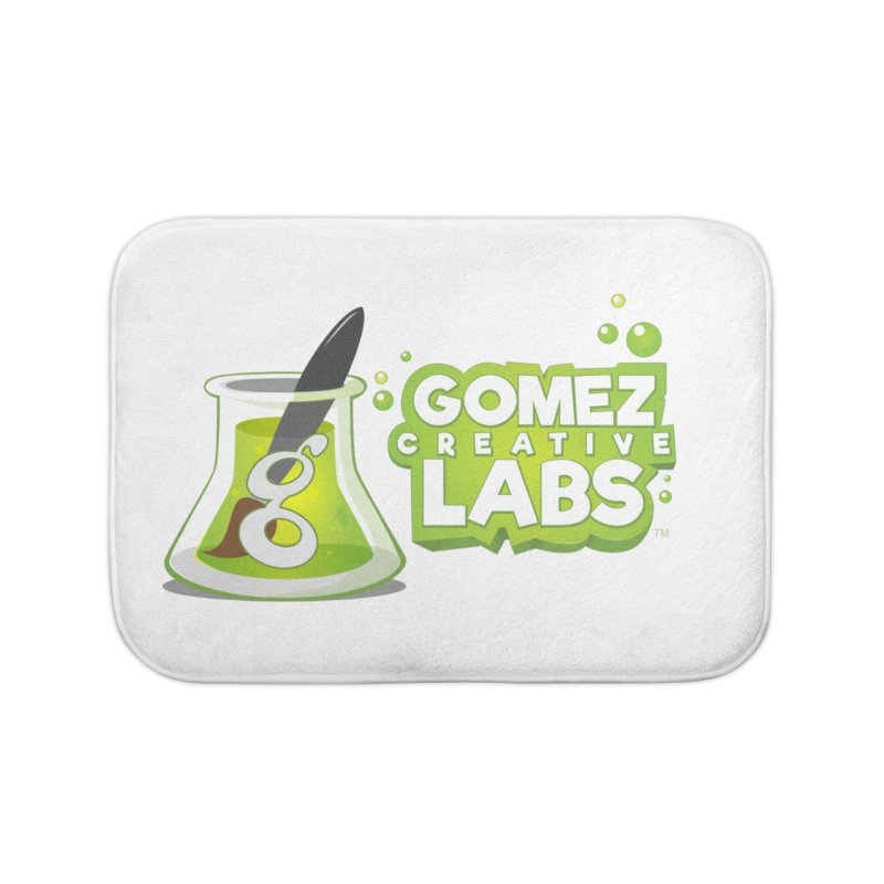 Gomez Creative Labs Logo Home Bath Mat by Coconut Justice's Artist Shop